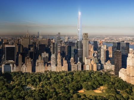 New York má novou dominantu. Nejvyšší obytná budova světa je dokončena