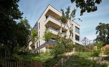 Nejlepším rezidenčním projektem menšího rozsahu v Česku se stala Barrandovská zahrada
