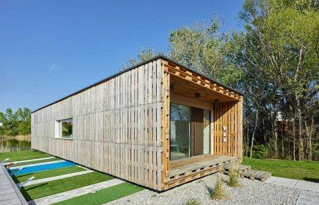 Dům z palet. Nový trend dostupného bydlení?