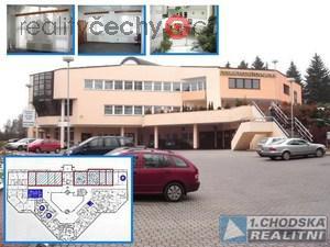 foto Pronájem kancelářských - obchodních prostor v administrativním komplexu v Domažlicích.