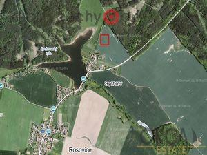 foto 0,1 ha pozemku v k.ú. Rosovice