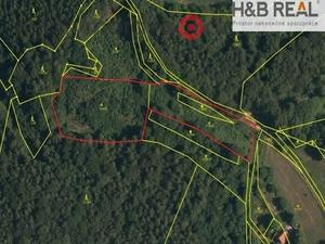 foto Prodej lesního pozemku Oznice