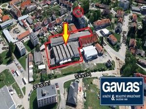 foto Výrobní a skladovací areál  na pozemcích o rozloze 4.286 m2 - Kaplice, okres Český Krumlov