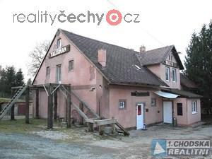 foto Komerční objekt s pozemky v lokalitě hraničního přechodu Folmava.