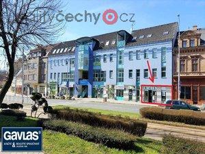 foto pronájem obchodních prostor 101 m2 v centru Litvínova