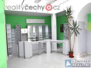 foto Pronájem komerčních prostor 100 m2 (obchod, služby...) v centru Domažlic.