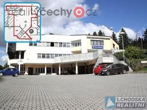 foto Pronájem komerčních prostor 115 m2 k provozu služeb v Domažlicích.