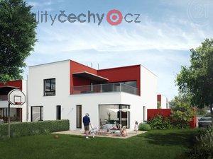 foto Prodej prestižního, nového bytu 3+kk 93m2 se zahrádkou 399m2 a garáží, Hostouň