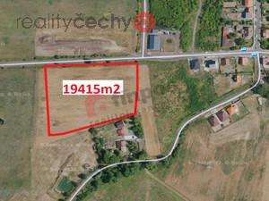 foto Prodej stavebního pozemku 19 415 m2, Srbice